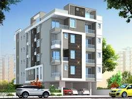 1253 sq. ft. 3 bhk flat in garden view apartment jagatpura.