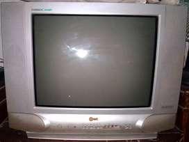 TV/ Televisi Tabung 21 Inch LG Speaker 4 Biji Suara Surround Keras Bgt