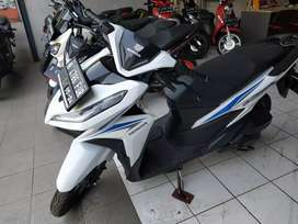 New vario 125 th2019 cash kredit siap pkai bnus helm gress km low