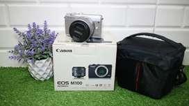 Canon eos M100 fullset muluss