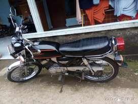 Jual-TT motor antik binter GTO,surat lengkap,kondisi ok,flat tangerang