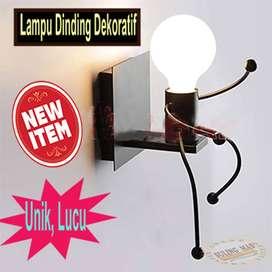Tempat Lampu Dinding / Lampu Dekoratif