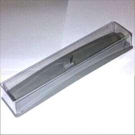 Grosir Box Kotak Pulpen Pen Pena Bolpoin Bening Alas Silver