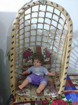 bamboo jhoola and easy chair