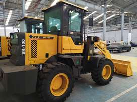 Wheel Loader Sonking Yunnei Engine Power 76Kw Turbo Murah Di Padang