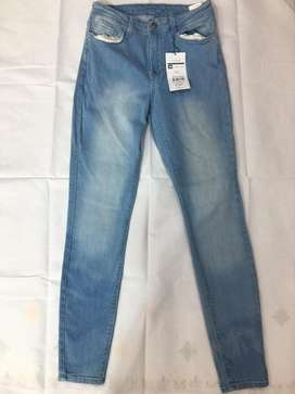 Ladies Stretch Jeans Fresh Export A Quality