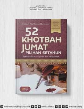 52 KHOTBAH JUMAT PILIHAN DALAM SETAHUN