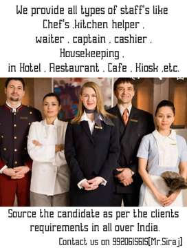 Looking for staff for provider in Maharashtra.