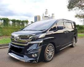 Toyota Vellfire G Limited 2016/2017 Van 2.5 Hitam