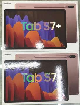 Samsung Galaxy Tab S7 Black silver gold tab S7 plus brand new box pack