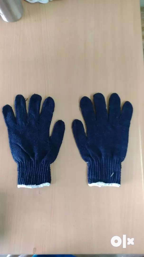 Cotton hand gloves ( 1 pair =7) 0