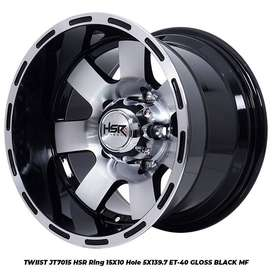 VELG RACING TWIIST JT7015 HSR R15X10 H5X139,7 ET-40 GBMF