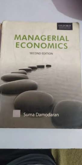 Managerial economics by suma damodaran