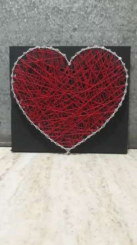 Panting by thread