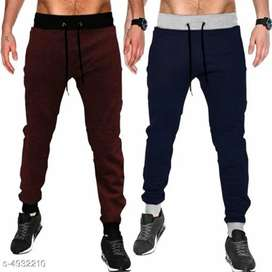 Fashionable men's track pants in combo
