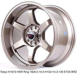 TOKYO H1673 HSR R18X95-105 H10X114,3-120 ET25 BRONZE