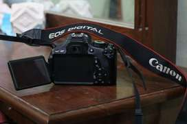 Canon 600D with Kit lens