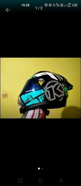 Helm Kyt r10 blue mulus