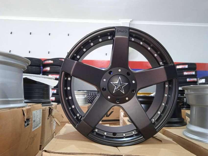 velg mobil kmc roxstar R17x7.0 H8x100/114.3 et38 for avanza kijang lgx