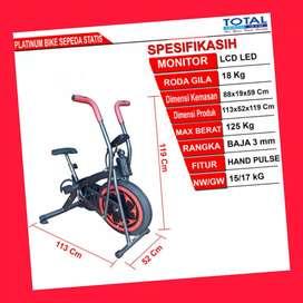 jual sepeda statis platinum bike total G-069 alat fitnes pati