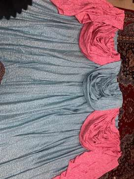 Fancy curtains with heavy pleated pelment