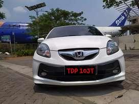 TDP 10JT Brio E 1.2 Matic Tahun 2015 Putih Istimwa Siap Pakai No PR