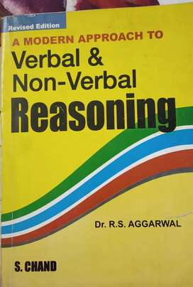 Verbal & Non-Verbal Reasoning. By R.S Aggarwal