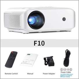 AUN HD Projector, AUN F10 LED LCD Projector 720P HD Home Theater LED L