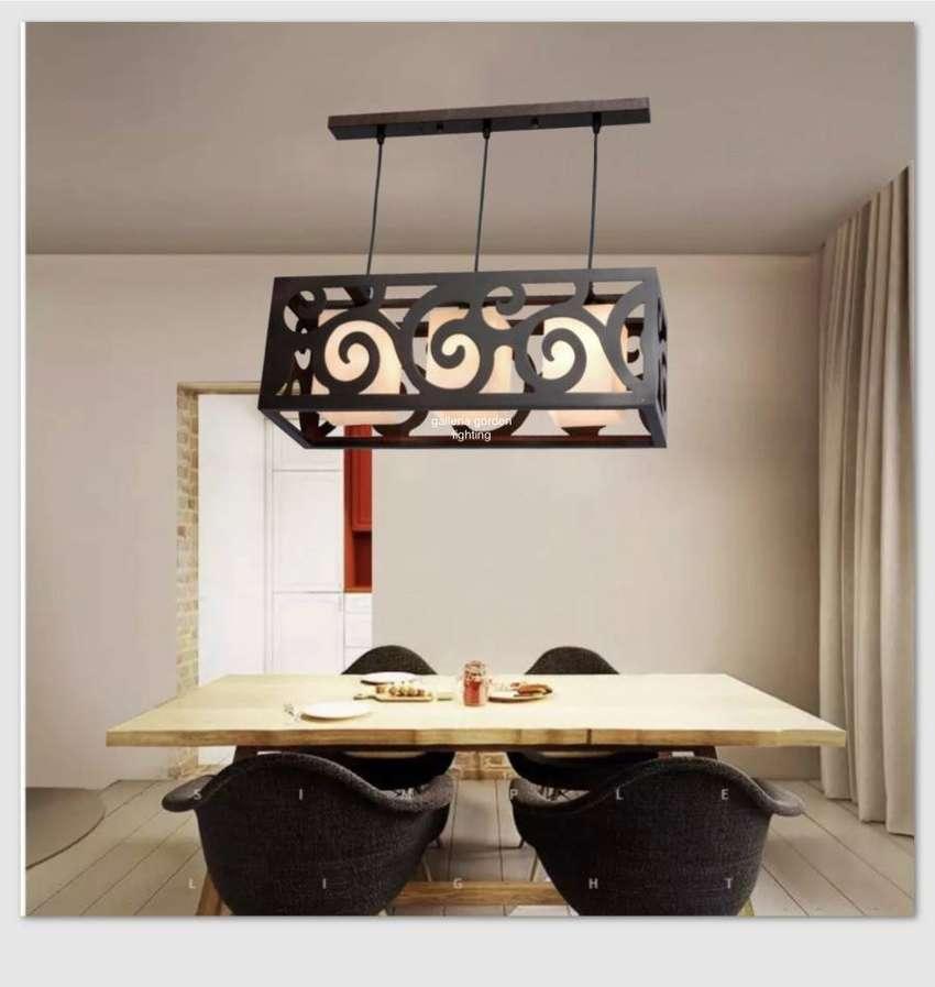 lampu gantung minimalis dekorasi meja makan 3610/3 ID62