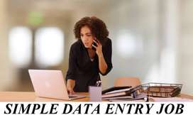 data entry job vacancy available