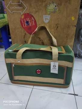 travel bag akz 215 kap bisa di tinggiin # koper 20 inch