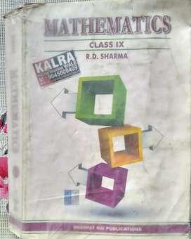 R.D. SHARMA (CLASS 9)