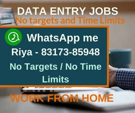 Earn monthly 30,000/- with home based data entry job. Apply now