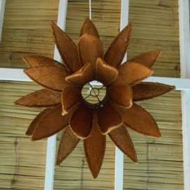 Lotus Hanger Lamp Shade 60B / Teratai Pendant Lamp Shade / Gantung Kap