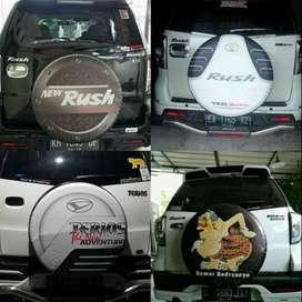 Cover/Sarung Ban Serep Suzuki Jimny/Rush/Terios oke gaweane dewek  Mau