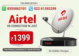 Airtel HD Set Top box at best price and best offer