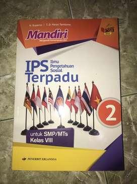Buku Mandiri IPS Ilmu Pengetahuan Sosial Terpadu Kelas VIII SMP