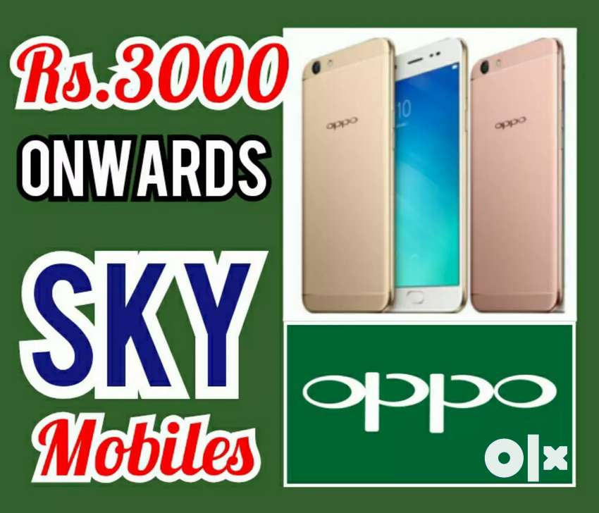OPPO 4G MOBILES Rs.4OOO onwards Cheap Price Sale At, SKY MOBILES 0