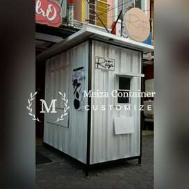 CONTAINER Uk 150 x 100 x 200 JUAL BOOTH SEMI CONTAINER Murah#)1