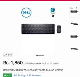Dell wireless keyboard and mouse combo