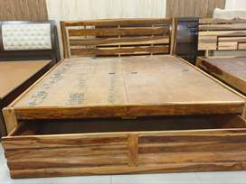 Well made @ Shesham Wood Bed at good qulity with solid wood