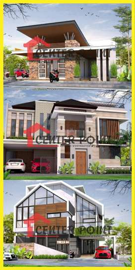 Desain Arsitek Gambar RAB IMB Kontraktor Rumah di Tomohon