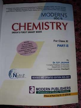 Morderns abc plus of chemistry class 11 refrence book. Full   NEW