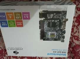 Motherboard, Ram, Processor