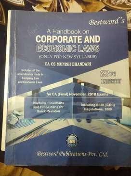 Corporate & Economics Laws - by CA Munish Bhandari