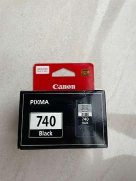 Tinta Canon PG -740 warna hitam