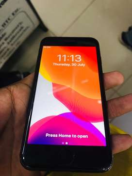 Iphone 7 256GB Black 100% condition