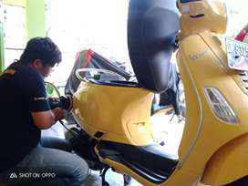 salon motor nano coating motor laminating motor detailing fast respone