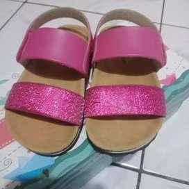 Sepatu sendal fladeo kids baru pakai 1 kali