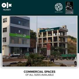 Bahria Town Phase 7 Rawalpindi, 1400 Sq Ft 2nd Floor Commercial Hall.